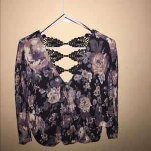 Love stitch from Muse open back top size m